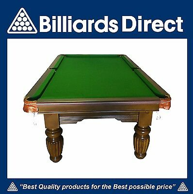 Brand New 8'x4' 1 Piece Slate Pool Table / Snooker / Billiards