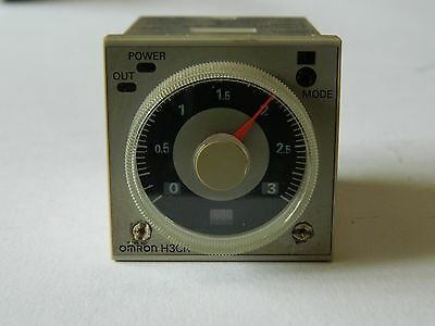 Omron H3CR-A 11Pin Multifunction Timer 0.05s-12min 100-240vac Relay 250vac 5A