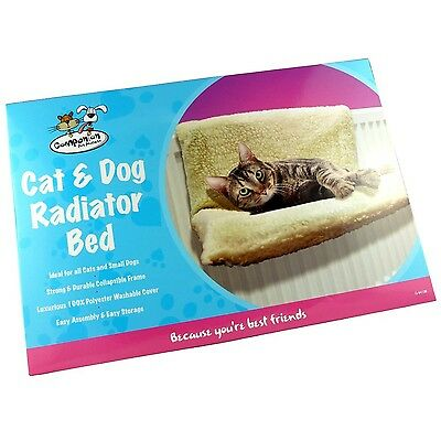 companion Brand New Cat Kitten & Small Dog Radiator Sleeping Bed Cuddly Warm ...