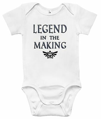 Newborn Infant Kids Baby Boy Girl Romper Bodysuit Jumpsuit Clothes Legend Zelda