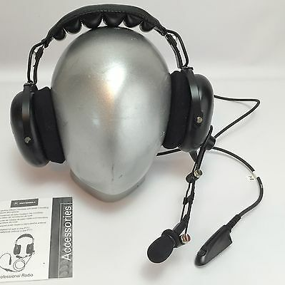 New,  Motorola, AARMN4032A Headset, Over the Head, Over Ear, Noise Canceling