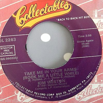 Kim Weston-Take Me In Your Arms-Collectables. Col 2263. Vg ++