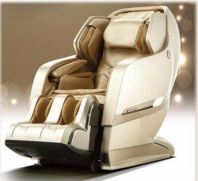 Brand New Massage Chair i-8600 L Set Roller Space Capsula Wireless APP Champagne
