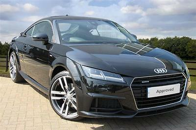 2016 audi tt 2 0 t fsi 230 ps quattro s line s tronic petrol black semi auto 29. Black Bedroom Furniture Sets. Home Design Ideas