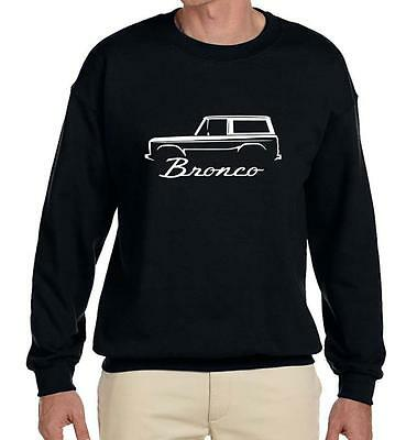 1966-77 Ford Bronco Classic Outline Design Sweatshirt NEW