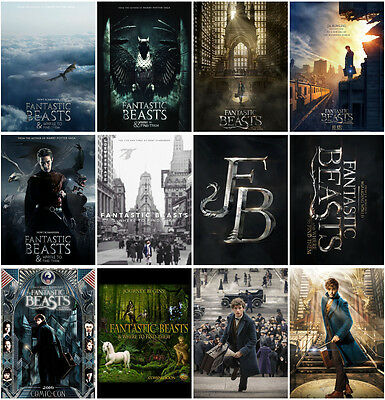 12pcs Fantastic Beasts and Where to Find them Postcard Promo Card Collector Card