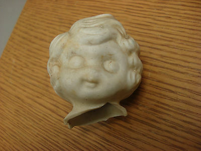 Help! Little Orphan Annie (or???) Bisque DOLL HEAD ONLY Really old, 30s era?