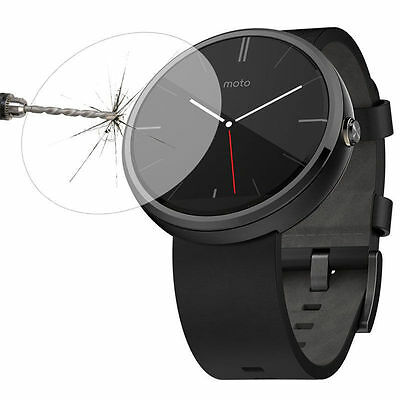 9H+ Tempered Glass Screen Protector For Motorola Moto 360 1st 46mm   /bx