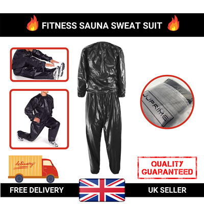 Heavy Duty Weight Loss Sweat Suit Sauna Suit Exercise Gym Suit Fitness Anti-Rip