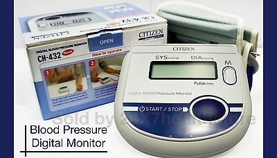 Digital arm blood pressure monitor Large LCD+features