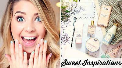 Zoella Beauty Collection Sweet Inspirations Body Mists Lip Balm Beauty Bag Cream