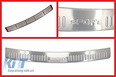 Range Rover Sport L320 Chrome Rear Bumper Tread Plate Cover Protector Step