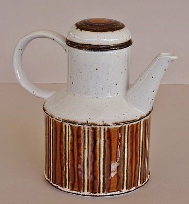 Retro 1970's *MIDWINTER STONEHENGE - EARTH* Stoneware Coffee Pot made in ENGLAND