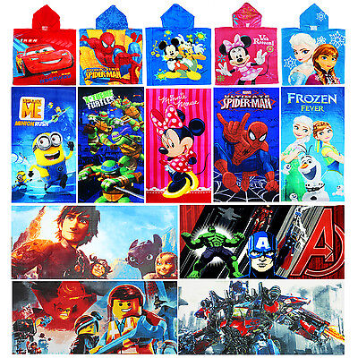 New Kids Bath Towel Beach Swim Pool Beach Boys Girls Towel Frozen Elsa Spiderman