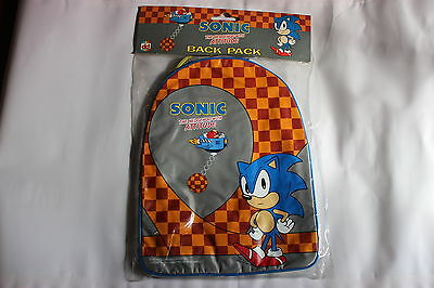 Sega Sonic The Hedgehog Backpack Original 1991 Collectable Rare Rucksack Bag New