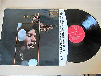 Jimmy Smith THE INCREDIBLE JIMMY SMITH Ref MFP1292 Vinyl LP