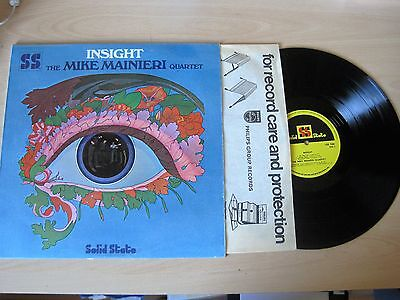 The Mike Mainieri Quartet INSIGHT Solid State Records Ref USS7006