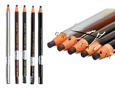 Microblading Eyebrow Peel-off Waterproof Marker Pencil SPMU Liner 5 Colours UK