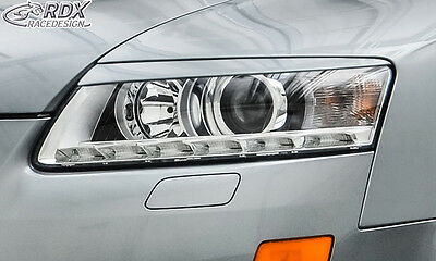 AUDI A6 4F 2008-2011 Headlight covers Eye Brows ABS