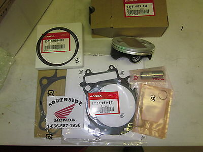 Genuine Oem Honda Piston Top End Kit With Gaskets Crf450X