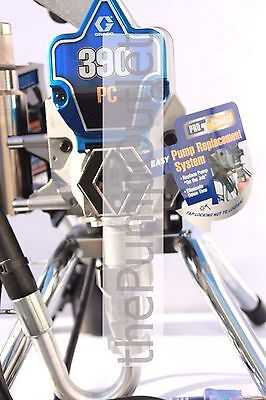 Graco 390 PC Airless Paint Sprayer 17C310 with FTX Gun & 50' Hose 390PC Stand