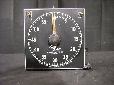 GraLab Universal Lab Timer Model 168