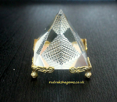 5Cm Crystal Pyramid Feng Shui For Prosperity And Positive Energy Fengshui Egypt