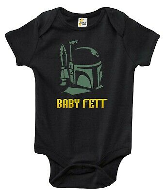 Newborn Infant Kids Baby Boy Girl Romper Bodysuit Jumpsuit Clothes Baby Fett