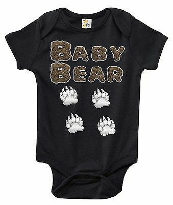 Newborn Infant Kids Baby Boy Girl Romper Bodysuit Jumpsuit Clothes Baby Bear