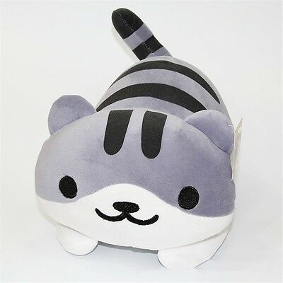 "14"" Game Neko Atsume ねこあつめ Kitty Collector Pickles Plush Toys Stuffed Doll"