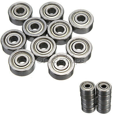 New 10PCS 623ZZ Practical Miniature Radial Ball Bearings 3x10x4mm for RC Car