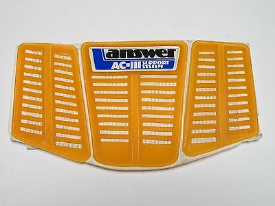 Vintage Motocross Answer Racing AC-III Support System Kidney Belt