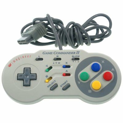Super Nintendo Controller Game Commander II 2 Gamepad Joypad SNES TOP Zustand