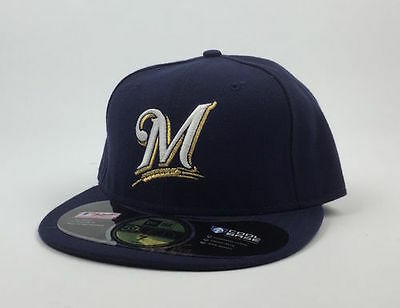 Milwaukee Brewers MLB on Field New Era 59Fifty
