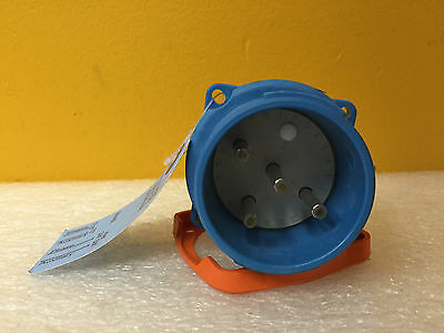 Meltric 33-18076, DS20, 20 A, 125/250 VAC, 0.5/1 HP, , Inlet Plug, New!