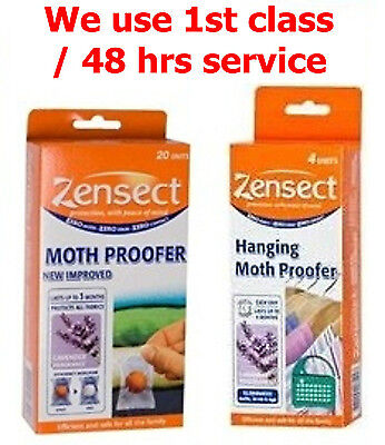 Zensect Hanging Units / Balls Moth Proofer Lasts up to 6 months Varians