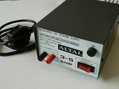 Altai P001C Regulated DC Power Supply 13.8VDC 3-5Amps