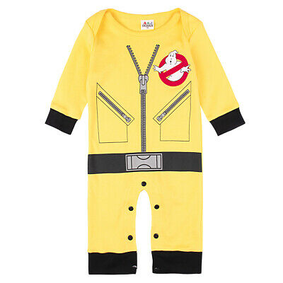44914d0ed8f3 Baby Boy Ghostbusters Costume Romper Newborn Jumpsuit Infant Outfits  Playsuit