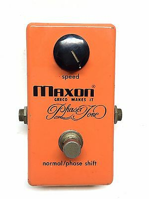 Maxon PT-990, Phase Tone, Phase Shifter, Made In Japan,70's, Guitar Effect Pedal