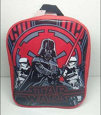 New Star Wars Darth Vader Kids Child Red School Book Bag Backpack Nwt