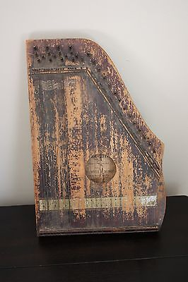 Antique Early Mofel Schmidt Menzenhauer No. 2 Guitar Zither 1897 – 1902  Circa