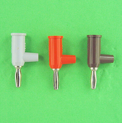 Pomona 4mm Stacking Stackup Banana Plugs & Matching Jacks, 3 Colors, Panel Mount