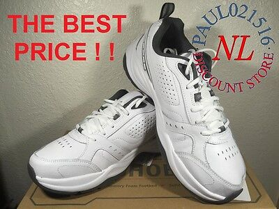 Kirkland Signature Men's Leather Athletic Shoes ~ WHITE/GREY ~ Various Sizes