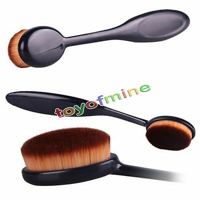 Elite Oval Makeup Brush Toothbrush Face Powder Cream Blush Foundation Blend Tool
