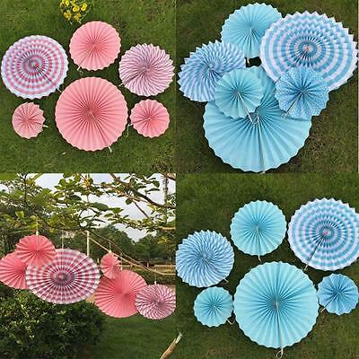 Tissue Paper Fans Party Wedding Birthday Hanging Fiesta Paper Fan Decorations