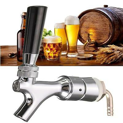 Beer Tap Kegerator Faucet Draft Shank With Elbow 1-2/5''X3/16'' Brass Tube CA