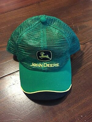 John Deere Hat Mesh Trucker Style New With Tags
