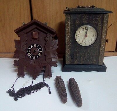 Cuckoo Black Forest Vintage 1930 69 Clocks