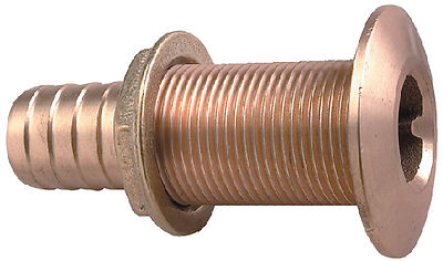 Bronze thru-hull 1 1/2""