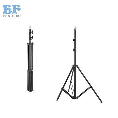 195cm/6.4ft Foldable Studio Photography Light Flash Stand Support Tripod Softbox